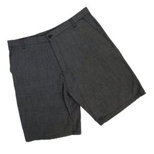 Men's casual gray shorts - size 38